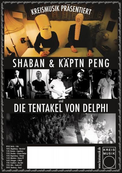 Käptn Peng & Die Tentakel von Delphi - Tourposter 2012 - Poster