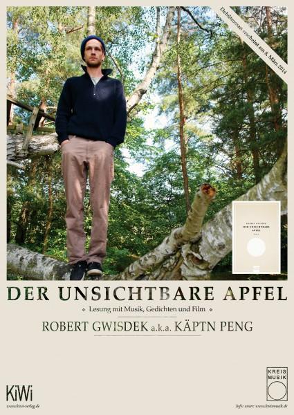 Käptn Peng - Der unsichtbare Apfel - Poster