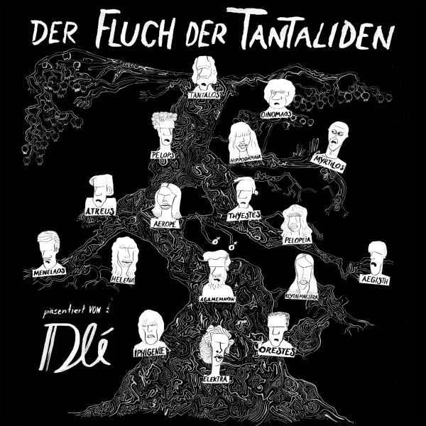 Dlé - Der Fluch der Tantaliden - Audio CD